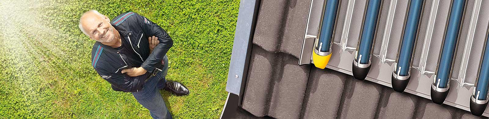 Solaranlagen für Wärme
