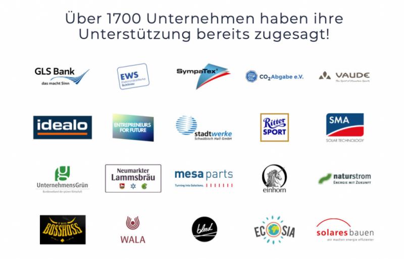 Schon 1700 Unternehmen fordern ein leistungsfähigeres #Klimapaket von der Regierung!...