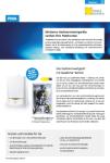 Produktinfoblatt PMA Gasheizung