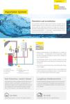 Produktinfoblatt AquaSolar System