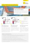 Produktinfoblatt Solare Trinkwassererwärmung