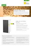 Produktinfoblatt PELEO Pelletsheizung
