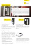 Produktinfoblatt Solarstationen