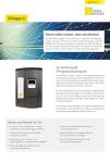 Produktinfoblatt STAqua E Solarstation