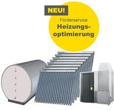 Solaranlage für Warmwasser und Heizungsoptimierung mit Pelletskessel