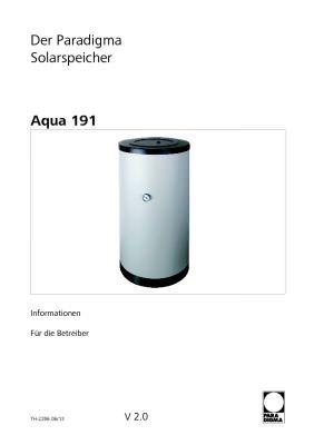 Solarspeicher Aqua 191