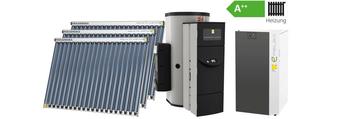 Paket PELEO 9 kW, ENERGY VARIO 1 HK, Aqua EXPRESSO III 1000, 3 x AQUA PLASMA 19/50