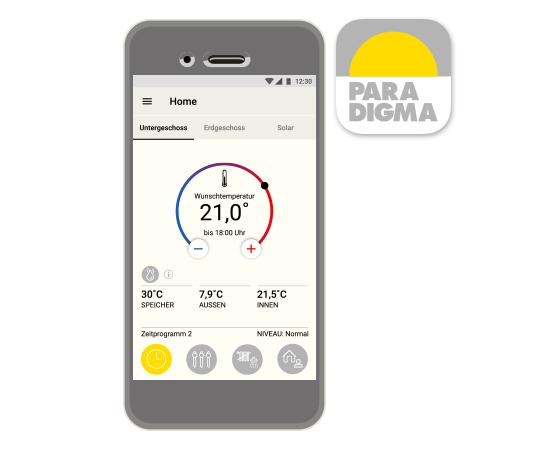 App Paradigma Heizung