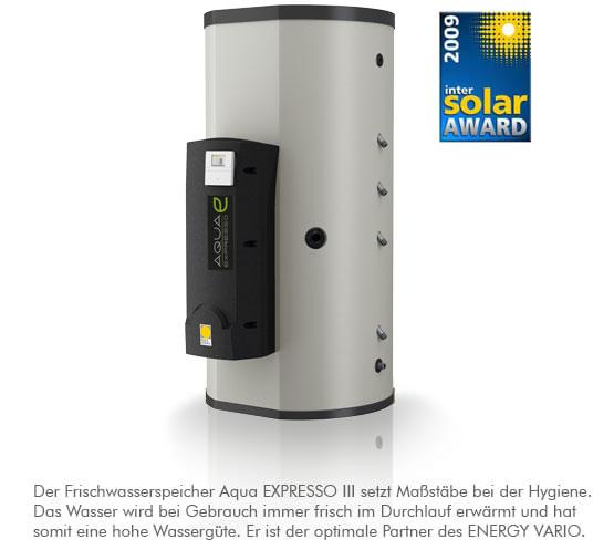 Aqua Expresso III - Gewinnder des Inter Solar Awards 2009