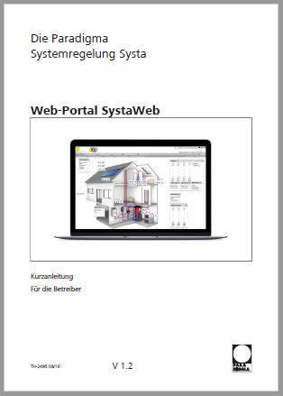 Bedienungsanleitung SystaWeb
