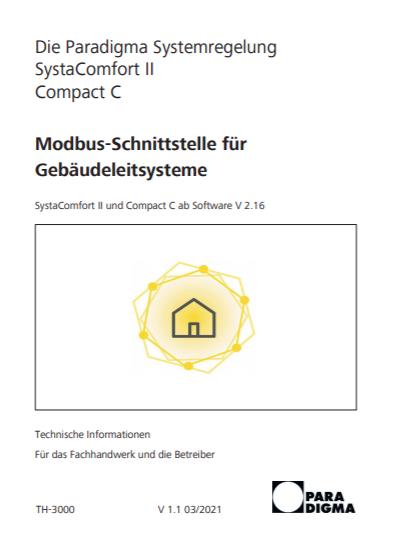 Modbus-Schnittstelle für Gebäudeleitsysteme
